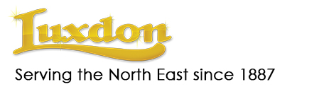 Luxdon logo Serving the North East since 1887